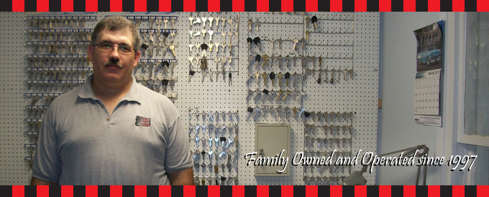Family Owned and Operated since 1997 | Tim with Keys
